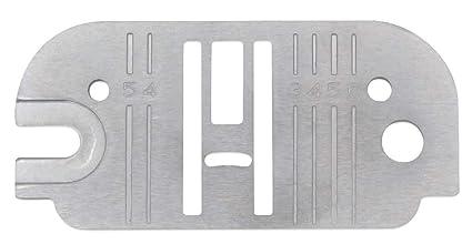 Placa de aguja para máquinas de coser domésticas; compatible ...