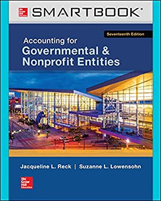 SmartBook for Accounting for Governmental & Nonprofit Entities