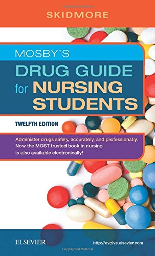 323448070 - Mosby's Drug Guide for Nursing Students