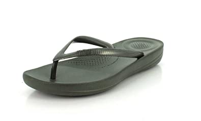 48cbca7c7 Image Unavailable. Image not available for. Colour  FitFlop E54 Women s  Iqushion Ergonomic Flip-Flops ...