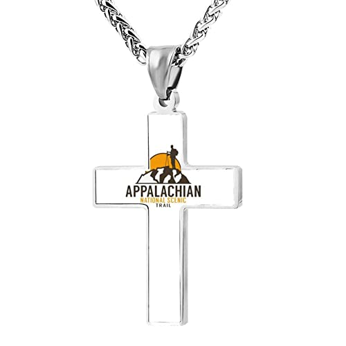 254762b153a FollowC HIKING APPALACHIAN TRAIL Cross Pendant - Jewelry Zinc Alloy ...