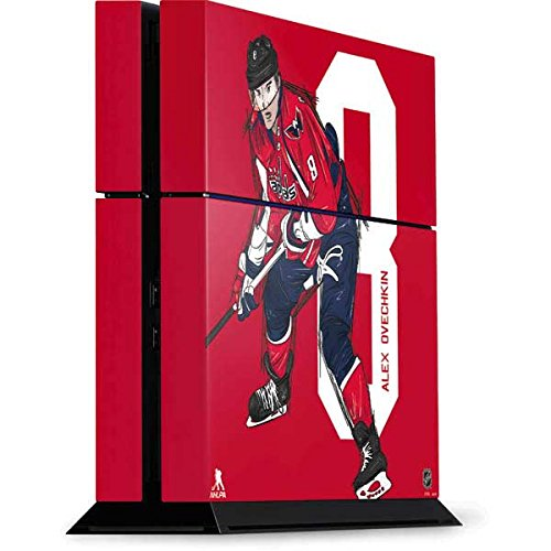 Washington Capitals PS4 Console Skin - Alex Ovechkin #8 Action Sketch | NHL X Skinit Skin