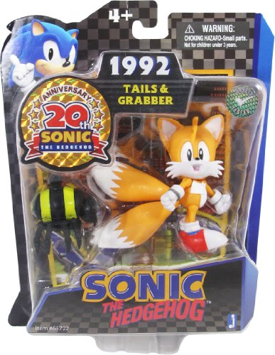 - Sonic 20th Anniversary 3.5 Inch Action Figure 1992 Tails Grabber