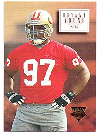 new arrival a27dd e27a3 Bryant Young 1994 Skybox Premium Rookie #163 - San Francisco ...