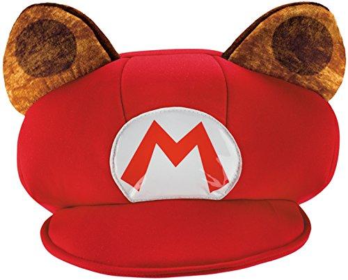 Mario Raccoon Super Mario Bros. Nintendo Child Hat, One Size Child
