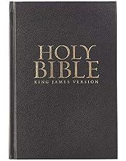 Black Hardcover Large Print King James Version Pew Bible