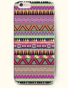 SevenArc Aztec Indian Chevron Zigzag Pattern Hard Case for Apple iPhone 6 Plus 5.5' (2014) Indian Aztect Tribal Pattern...