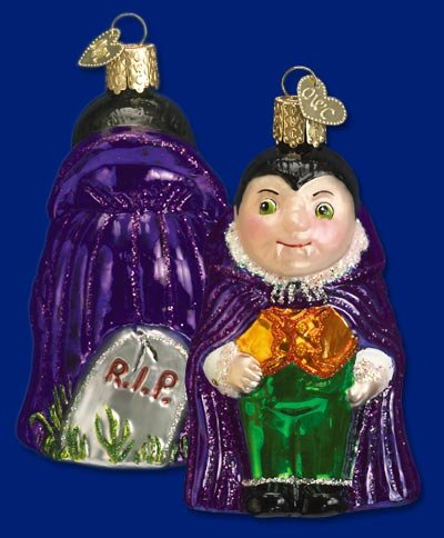 Old World Li'l Dracula Ornament