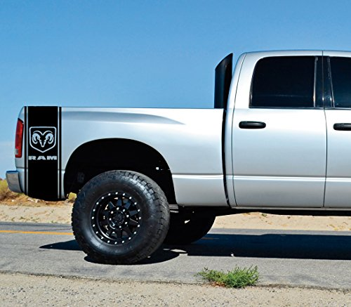 dodge ram bed decal - 1