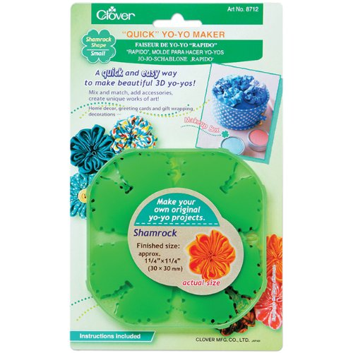 Clover Quick Small Yo-Yo Maker Shamrock Shape