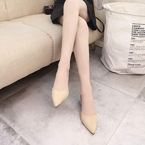 Scarpe da Strappy Moda alla estive Femminili Scarpe Scarpe Sandali Donne delle Donna alla Scarpe Tacco Punta Casual Piatto Traspiranti UAxCv7xq