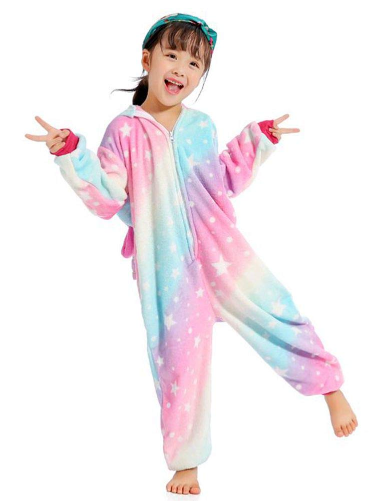 BELIFECOS Childrens Costume Unisex Cosplay Pajamas Unicorn Onesie Kids by BELIFECOS