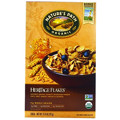 Nature's Path, Organic Heritage Flakes Cereal, 13.25 oz (375 g)(pack of 3)