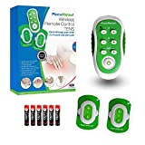 AccuRelief Wireless TENS Unit With Remote Control, TENS Pain Relief Device and Muscle Stimulator, For Back Pain, Neck Pain, Arm and Leg Pain