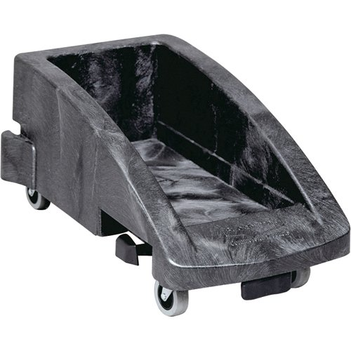 Rubbermaid Trolley for Slim Jim Container - Black (Slim Dolly Jim)