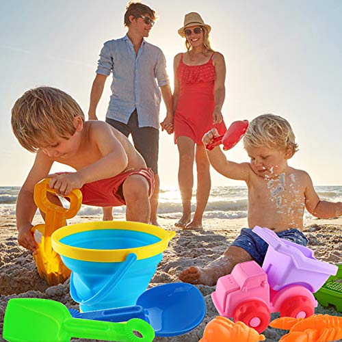 Amor 10 PCS Beach Toys Sand Water Toys Sand Toys for Toddlers Kids Outdoor Play