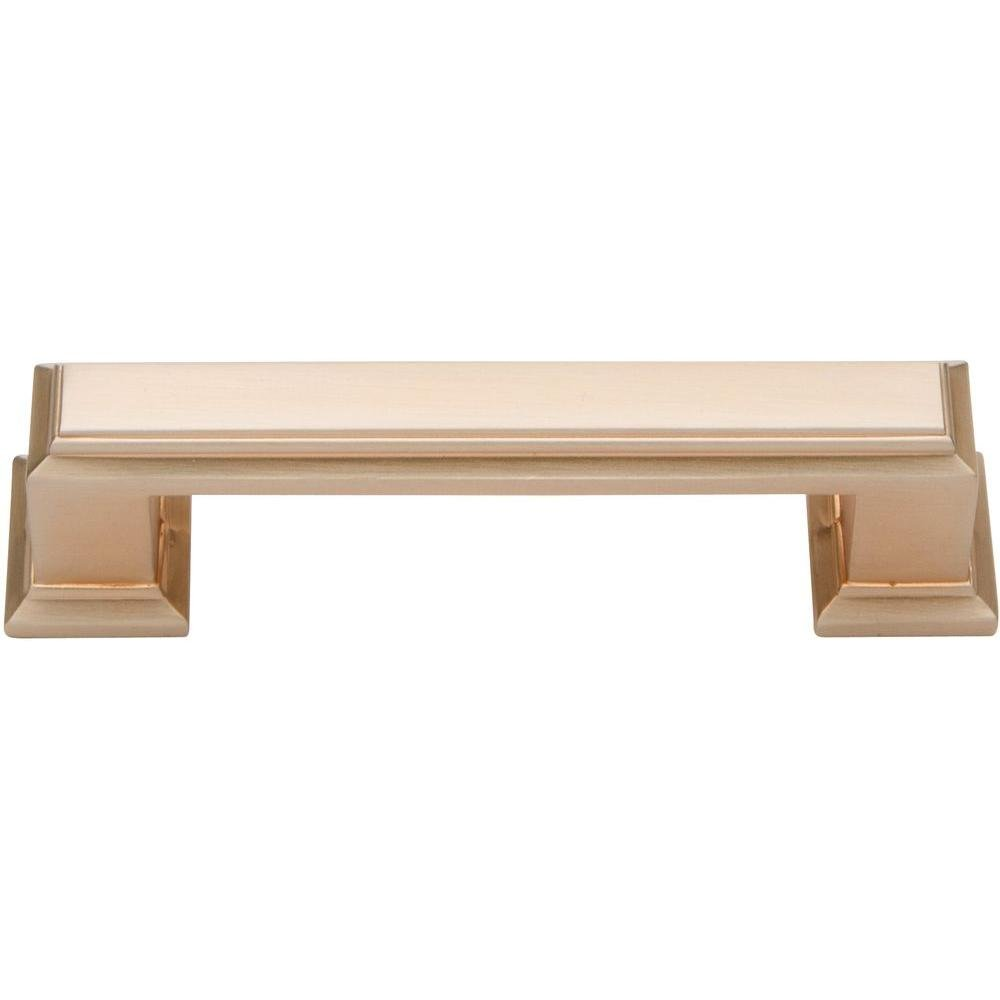 atlas homewares 291pn 4inch sutton pull polished nickel cabinet and furniture pulls amazoncom