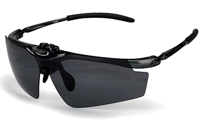 2b0aaf0832 Polarized Sports Sunglasses UV Protective 5 Set Interchangeable Lenses for  Driving