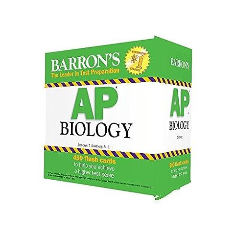 Barron's AP Biology Flash Cards, 3rd Edition (Ap Biochemistry)