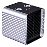 Brightown Space Heater 750W/1500W ETL Listed Quiet Ceramic Heater with Adjustable Thermostat,Normal Fan and Safety Tip Over Switch