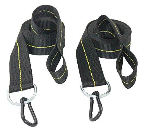 4 Pair 24cm Heavy Duty Tree Swing Strap Hammock Straps Swing Hanging Kits