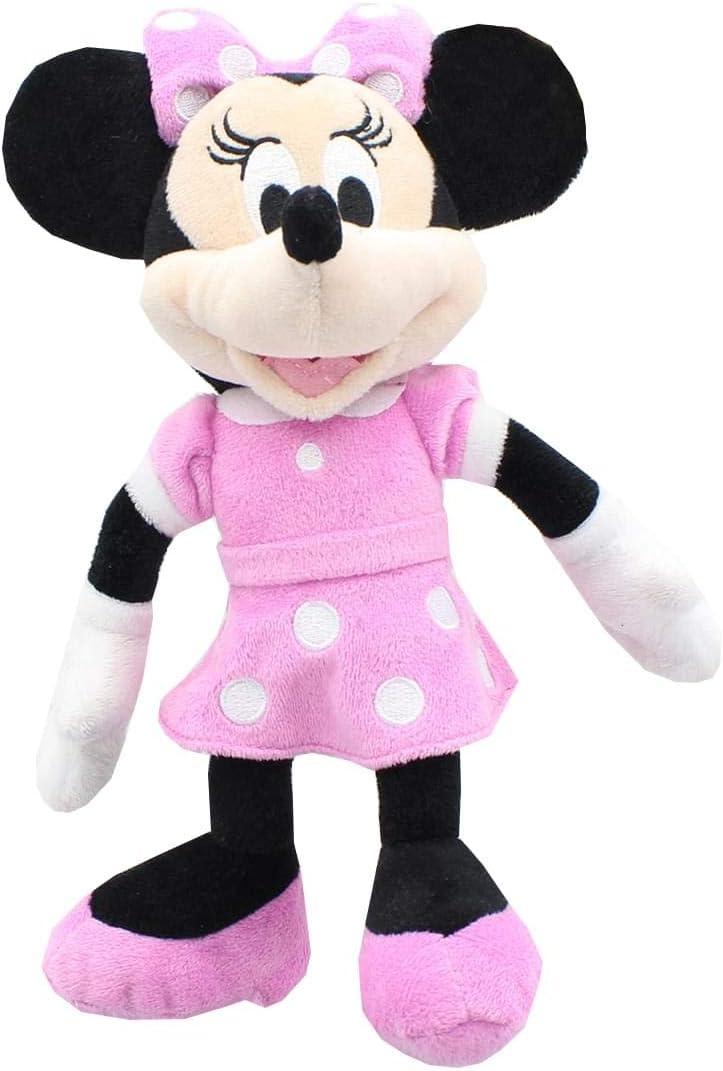 "Details about  /Walt Disney 10/"" Minnie Mouse Bean Plush Soft Toy Stuffed Animal"