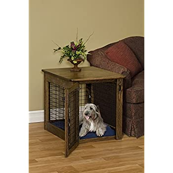 chew proof dog crate amish wooden luxurious u0026 decorative dog crate end table size