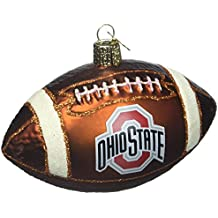 Old World Christmas Ohio State University Football Glass Blown Christmas Ornament