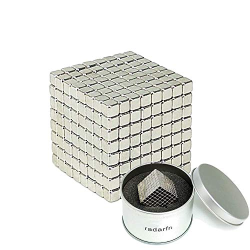 512 Square - Magnetic Cube 512 PCS Magnet Sculpture Stress Relief Toy DIY Educational Toys for Kids and Adults (3MM)