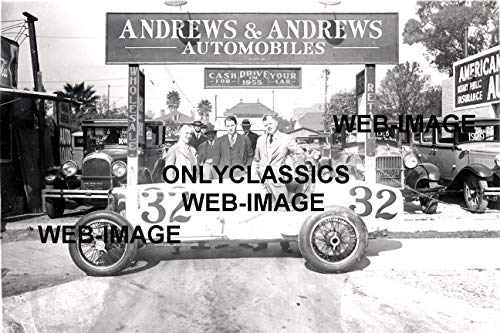 OnlyClassics 1929 Used CAR LOT-AUTO Dealer Promo Photo AUTOMOBILIA INDY 500 Racing CAR Sprint