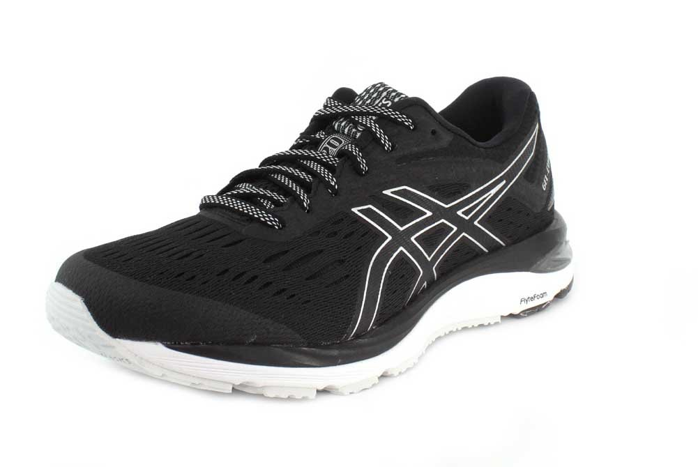 ASICS Gel-Cumulus 20 Men's Running Shoe B079VKZMLP 8.5 D(M) US|Black/White