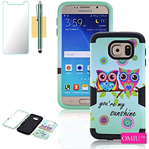 Galaxy S7 Case, S7 Case,OMIU(TM) Shock-Absorption Bumper Case Full-body 3 IN 1 Owl Design Fit For Samsung Galaxy Sales
