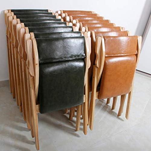 Chaise de bureau Chaise d'ordinateur Pliante en Bois à Domicile Chaise de réunion de Formation de Fauteuil PENGJIE
