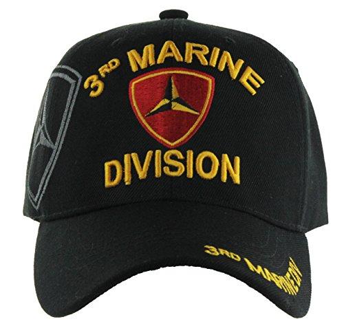 U.S. Military Cap Hat Vietnam Veteran Army Marine Navy AIR Force (3rd Marine Division) (Hat Marine Division)