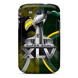 High-quality Durable Protection Cases For Galaxy S3(green Bay Packers)