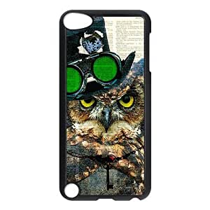 Different Style Custom Personalized Dictionary Hipster Owl Vintage Retro Ipod Touch 5 Case Dictionary Owl Cover Ipod 5