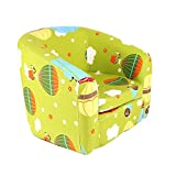 Emall Life Kid's Armchair Children's Roundy Chair Cartoon Sofa Wooden Frame (Balloon)