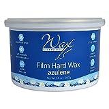 Wax Necessities Azulene Stripless Hard Wax Tin 14 Oz/397 g