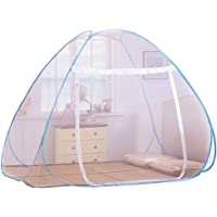 Foldable Mosquito Net Bed - Pop Up Mongolian Yurt Dome Net Free Installation Tent - Prevent Insect Mosquito Net for Bedroom - Lovin (180×200 cm)