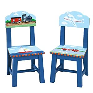 Guidecraft Transportation Table and Chair Set Style: Set of 2 Extra Chairs