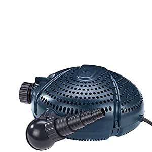 FIAP 2704Aqua Active 15.000, estanque, filtro y Bomba de arroyo, por separado regelbarer Skimmer Conector