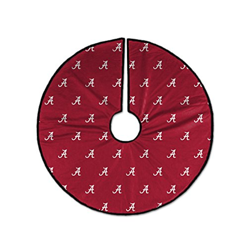 Pegasus - Sports (PEGRK) NCAA Alabama Crimson Tide Unisex Ncaancaa Christmas Tree Skirt, Red, White, 52