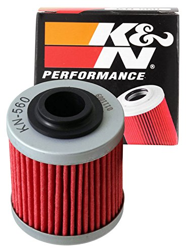 KN-560 K&N Performance Oil Filter; POWERSPORTS CARTRIDGE (Powersports Oil Filters):
