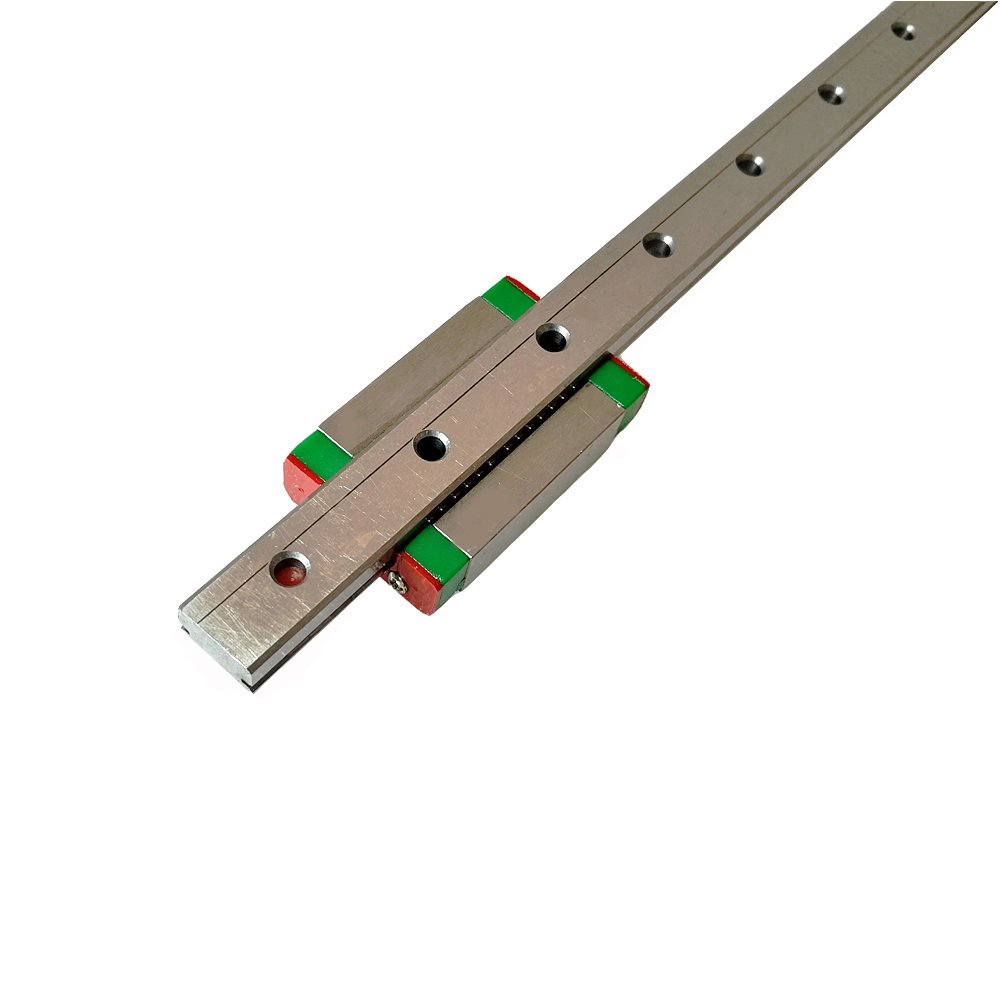 Iverntech MGN12 300mm Linear Rail Guide with MGN12H Carriage Block for 3D  Printer and CNC Machine