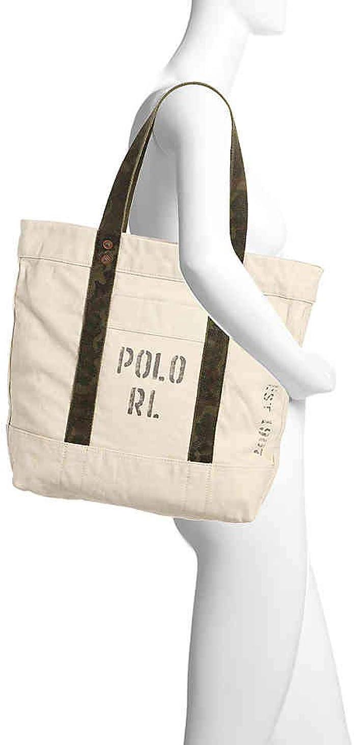 Ralph Lauren Polo Bolso de lona (tamaño grande): Amazon.es ...