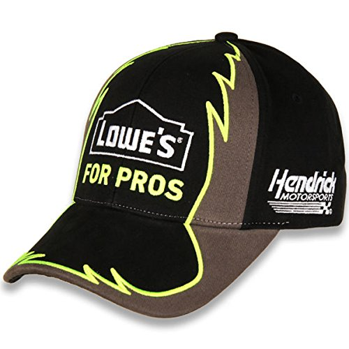 Checkered Flag NASCAR Adult Jagged-Driver-Adjustable Hat/Cap-Jimmie Johnson #48-Lowe