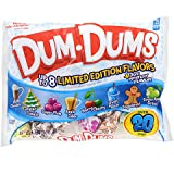 Delicious mini lollipops bring back memories of being a kid! Each bag of Dum-Dums are full of a variety of wonderful seasonal flavors including hot chocolate, sugar cookie, sugar plum, apple cider, merry cherry, polar punch, gingerbread, and ...