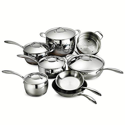 Tramontina 80102/202DS Gourmet Domus 13 Piece Cookware Set