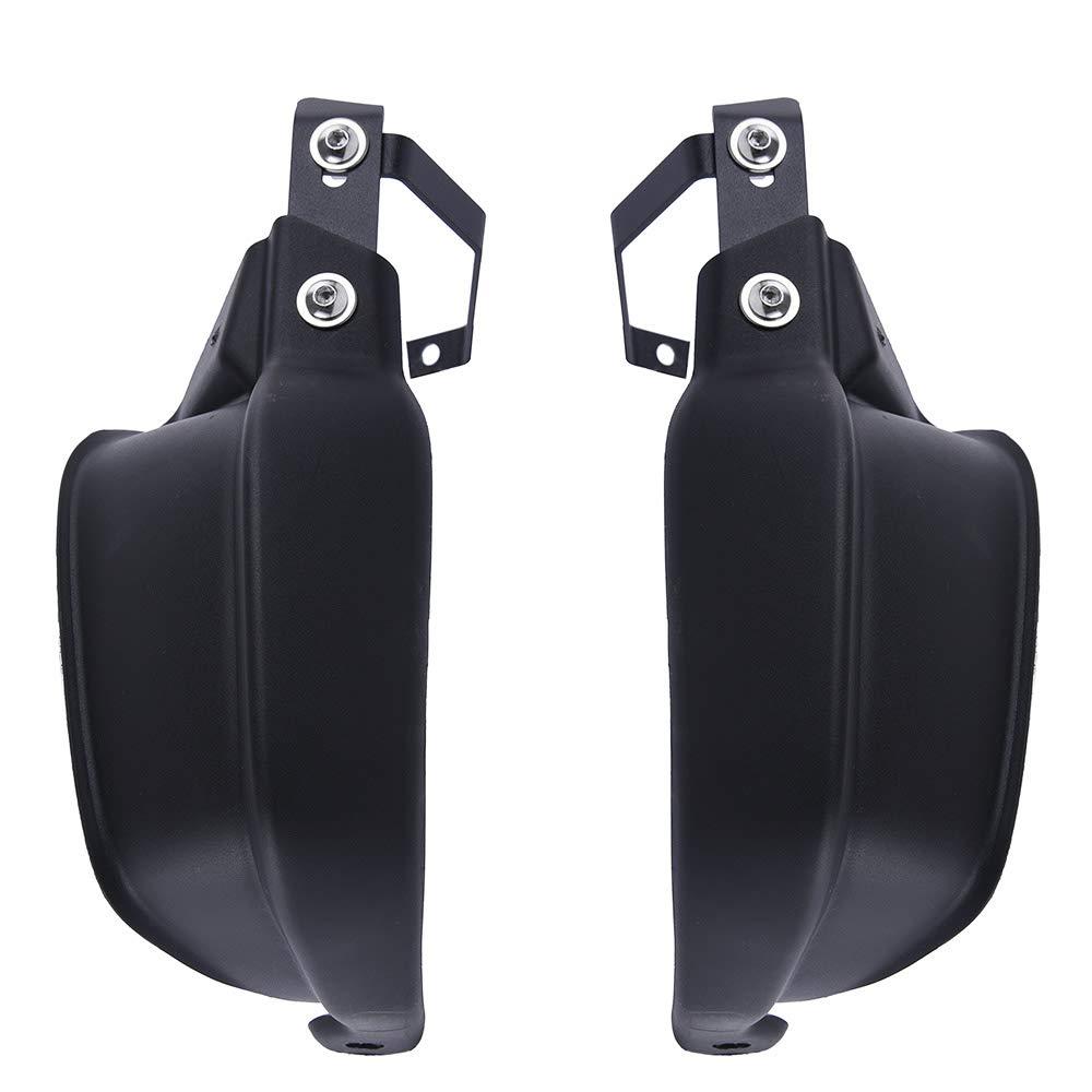 FATExpress Motorcycle Plastic Black Hand Guard Handlebar Handguard Protector for BMW G310R G 310 R Kawasaki Versys 650 1000 LT Z900 ZR900 2010 2011 2012 2013 2014 2015 2016 2017 2018