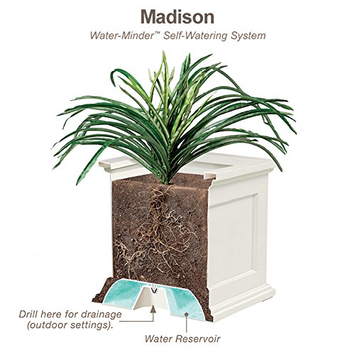 Novelty 18341 Madison 34-Inch Flower Box White